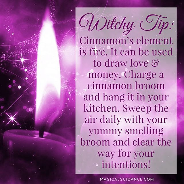 ✨ Witchy Wednesday Tip: Tis the season for cinnamon brooms! I even saw them at Trader Joe's recently (both big and small). Cinnamon is such a warming fragrance and powerful, too! ✨ #witchywednesday #witch #witchesofinstagram ✨ New Witchy Tip posted every Wednesday on my Instagram: https://www.instagram.com/magicalveela/ ✨