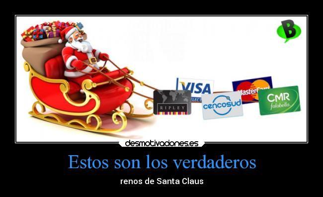 carteles navidad graciosas humor santa claus regalos renos desmotivaciones