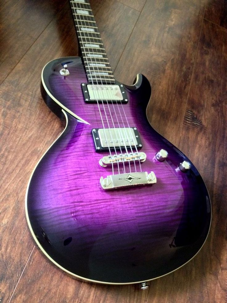 2015 DBZ DIAMOND BOLERO ST PLUS MV MIDNIGHT VIOLET FLAME TOP ELECTRIC GUITAR #DBZ