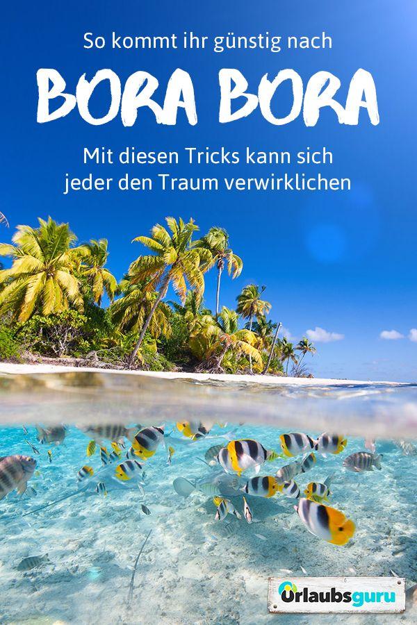 Bora Bora gehört bei vielen auf die Bucketlist. Kein Wunder, die begehrtesteI…