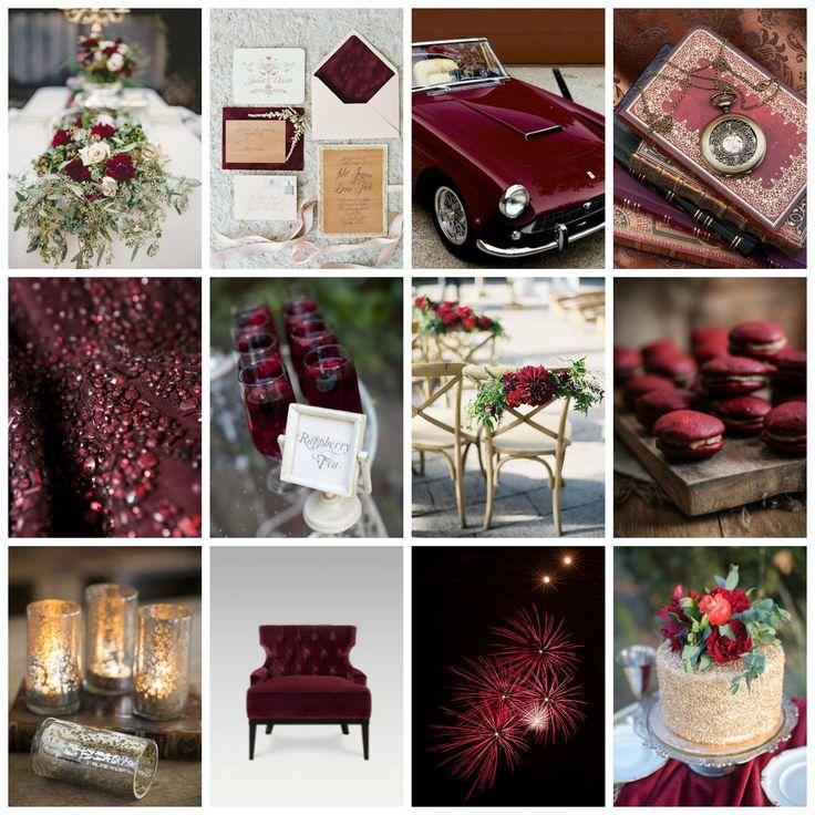 Shari's Marsala Wedding Inspiration is stunning!