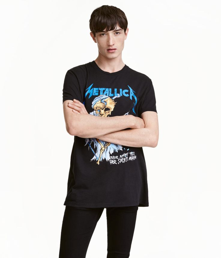 T-shirt with Printed Design | H&M Divided Guys