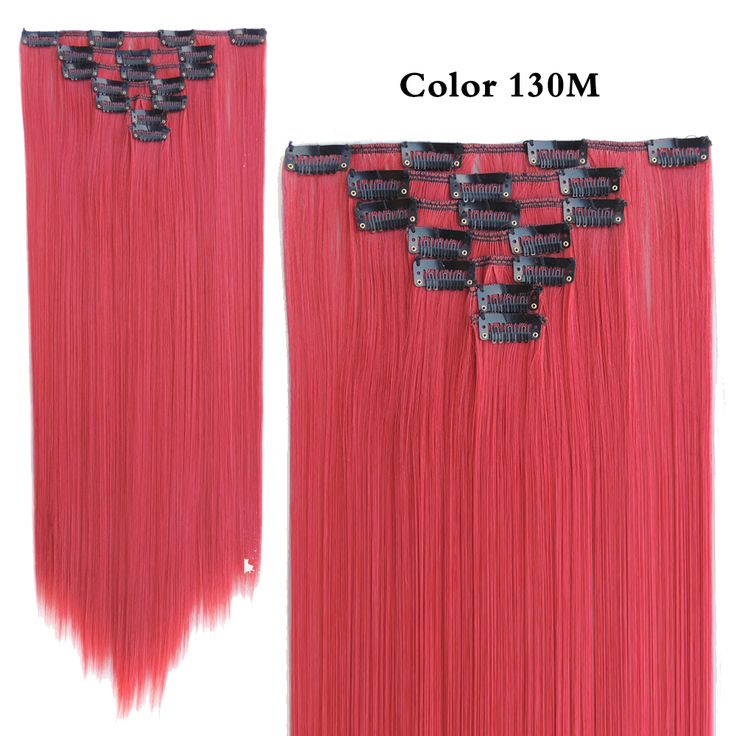 Hair Extension New Balance 574 Aplique de Cabelo Mega Sintetico Freetress Tinta Tic Tac Red 7pcs/set 22inch 55cm 130g color