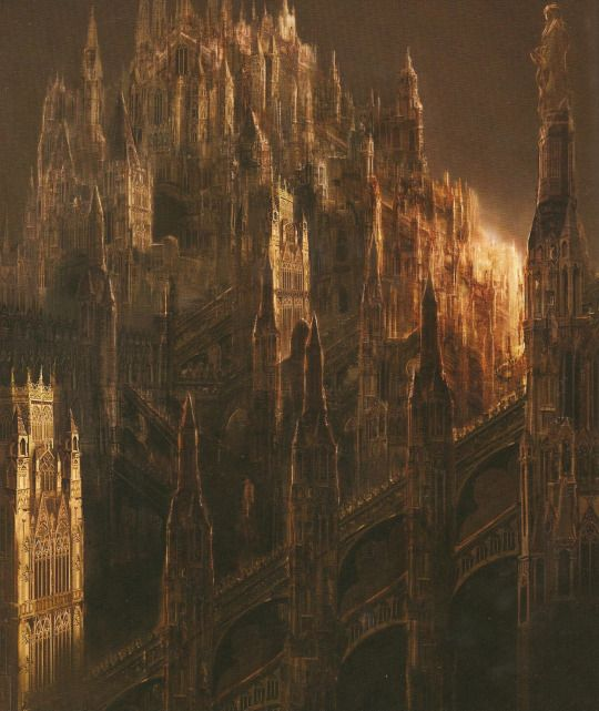 Anor Londo, Dark Souls Design Works.                                                                                                                                                                                 More