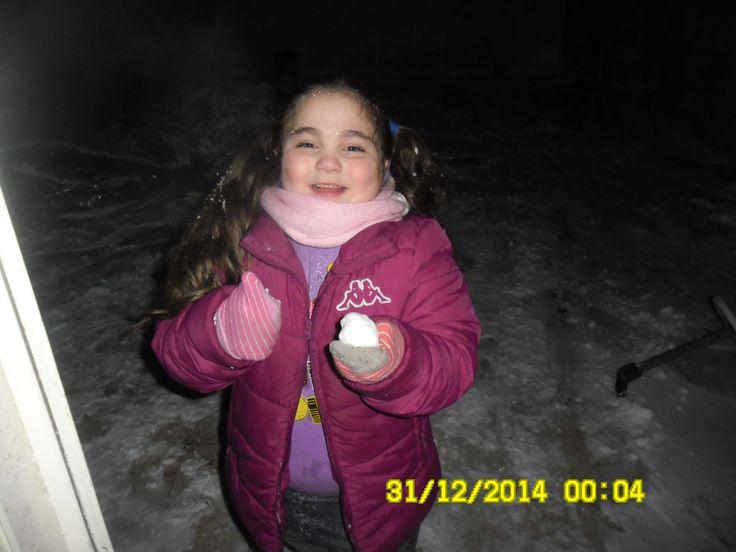 pia e la neve