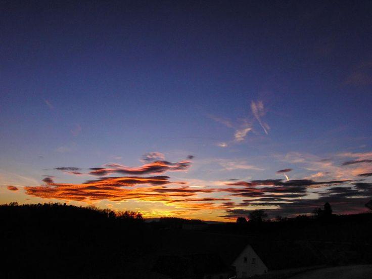 19.12.2014 - Wunderschöner Sonnenuntergang @ Gleisdorf (STMK)