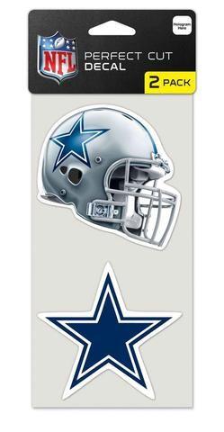 68f6e7e35c1 Dallas Cowboys Set of 2 Die Cut Decals | Dallas Cowboys Sports Fan ...