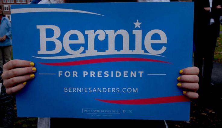 BERNIE SANDERS TO IOWANS: CAMPAIGN ABOUT PEOPLE, NOT DONALD TRUMP