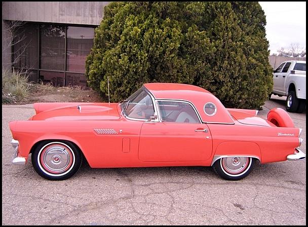 1956 Ford Thunderbird  312/225 HP, Automatic  #MecumKC
