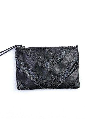 Trblietavá listová kabelka s odnímateľnou retiazkou #Modinosk