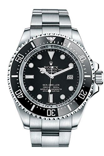 Rolex Sea Dweller Black Dial Stainless Steel Mens Watch 116660 * Read more revie...