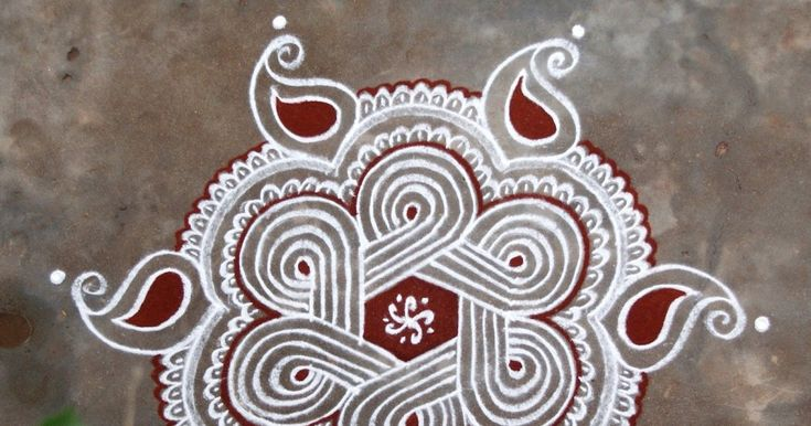 Rangoli and Art Works: DOTTED KOLAM (7-4 DOTS)