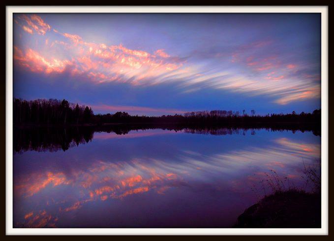 November Sunset Reflections: Photo by Photographer Paul Pluskwik - photo.net