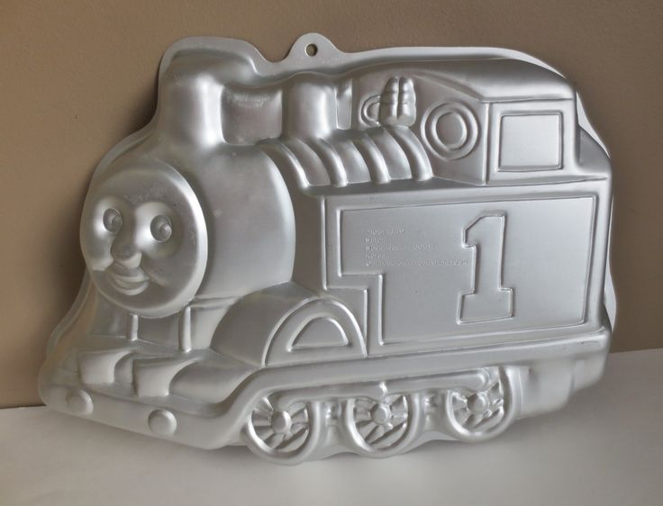 Thomas the Tank Cake Pan, Vintage Wilton Cake Pan,  Thomas and Friends Train Cake Pan, 1994 Character Cake Pan, Childrens Birthday Cake Pan by OtterValleyVintage on Etsy