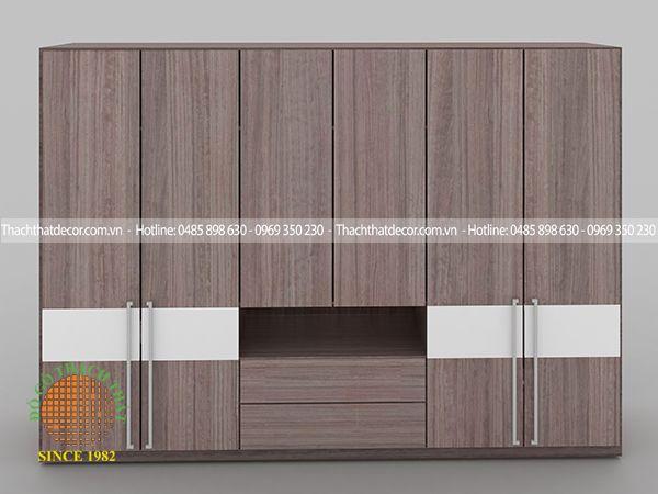 Tủ quần áo gỗ công nghiệp hiện đại EPN-405