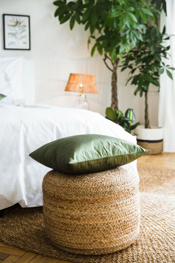 Lovely  Urban Jungle Um Euer Schlafzimmer in eine exotische Ruheoase im angesagten Greenery Style zu verwandeln braucht Ihr vor allem viel Gr n zeug