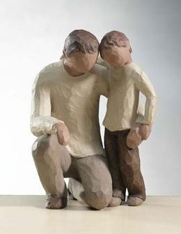 """ Father and Son""- Willow Tree figurine"