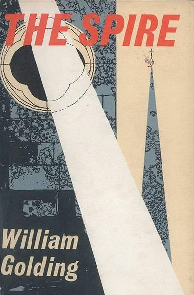 William Golding's   The first edition of the Spire from 1964