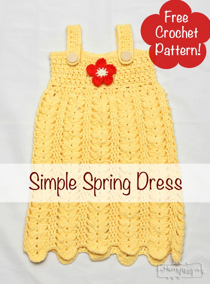 Crochet Flower Dress Pattern : 1077 best dolls and their clothes images on Pinterest