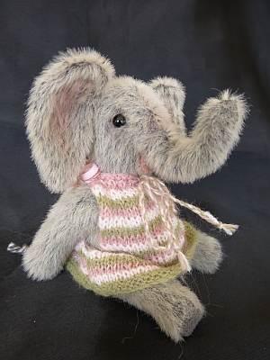 """Safi"" - my latest miniature elephant.  www.lesbears.com.au"
