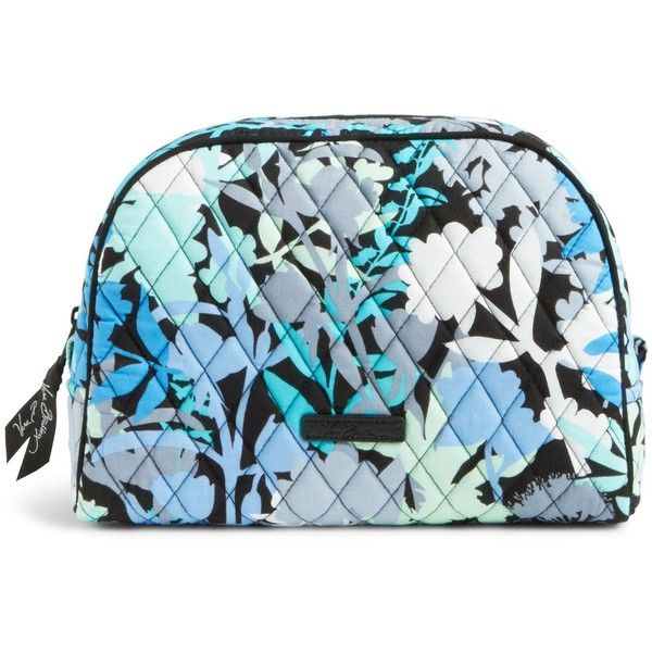 Vera Bradley Large Zip Cosmetic In Camofl 34 Liked On Polyvore Featuring Beauty