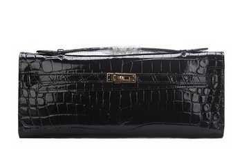 2016 Hermès Kelly Clutch sac cuir Croco K1002 noir élocution en ligne jusqu'à 70% relatives au réduction, shopping facile mais aussi livraison gratuite.#handbags #design #totebag #fashionbag #shoppingbag #womenbag #womensfashion #luxurydesign #luxurybag #luxurylifestyle #handbagsale #hermes #hermesbag #hermesparis