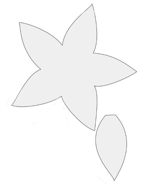 ☂☂☂ Yaz Yamugru !!! ☂☂☂: Keçeden Çiçek Yapımı