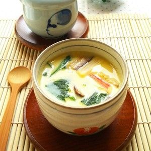 レンジで簡単☆茶碗蒸し by snow kitchen☆ さん | レシピブログ - 料理ブログのレシピ満載! 火が通りやすい材料を使ってレンジで作れる茶碗蒸し☆  ふんわり美味しいです♪
