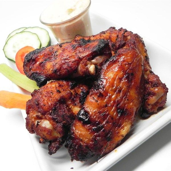 """Kristina's Atomic Wings Dry-Rub Style I """"Atomic is an understatement! Holy WOW these wings will light you up. I definitely recommend having a cold beverage nearby. I chose to grill mine and they turned out good."""""""