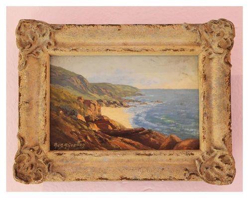 Reg. A. Grattan   'Little Cove'   Oil on Canvas