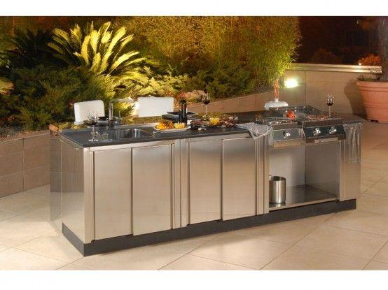 Best 25 modular outdoor kitchens ideas on pinterest for Outdoor kitchen designs san antonio