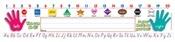Name Plates Primary Modern Manuscr. 36/Pk 18 X 4 TF-1553 Teachers Friend Name Plates | K12 School Supplies | Teacher Supplies