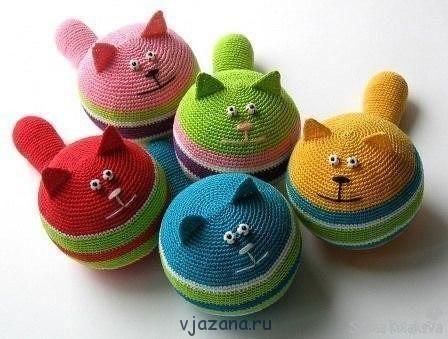 Кот-антистресс | Вязана.ru