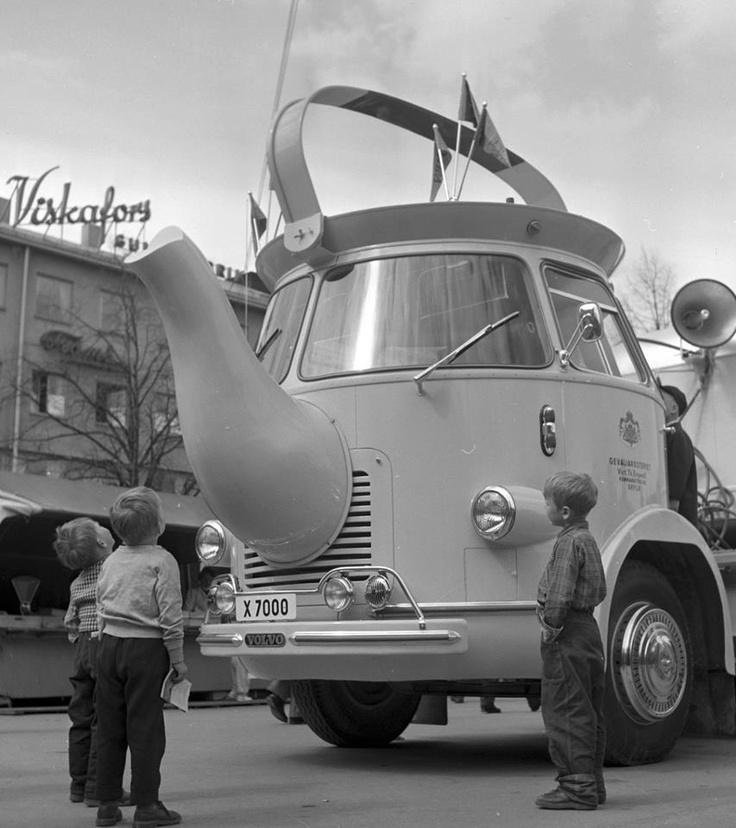 Gevaliabilen, Gävle stortorg 1956