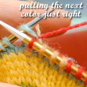 Even Stranded Knitting ~ Tutorial