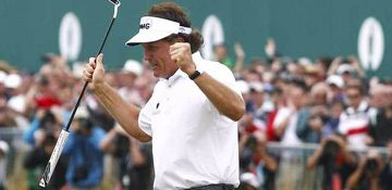 Rolex Brand Ambassador, Phil Mickelson, Wins British Open, and a look at a few other brand ambassadors Posted on July 22, 2013 by Roberta Naas