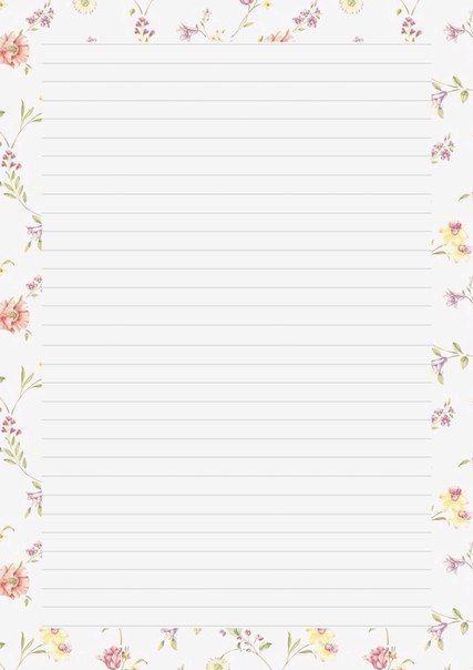Las 25 mejores ideas sobre hojas decoradas para escribir - Papeles de vinilo para pared ...