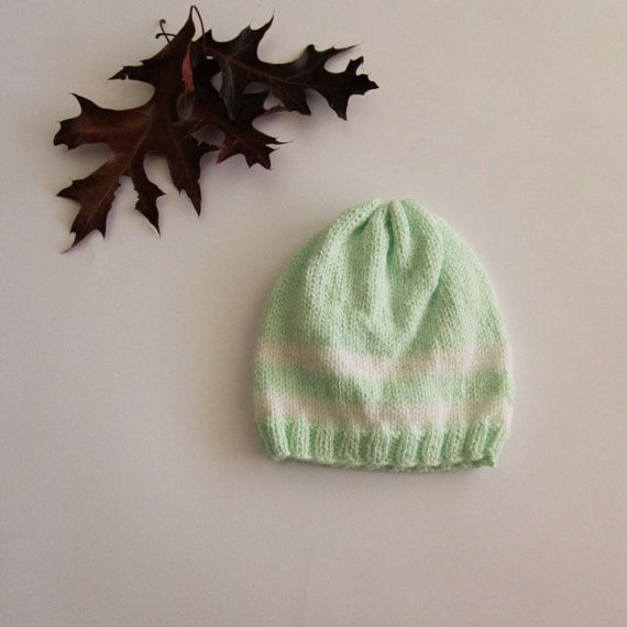 Baby hat hand-knitted baby hat newborn hat by ProjectKnitting