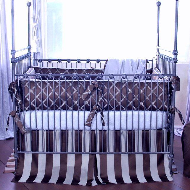 Bordeaux 4 Piece Crib Bedding Set