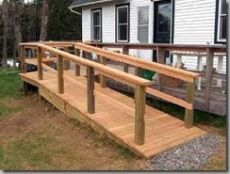 almost time to build one of these. this site has directions and ADA guidelines