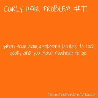 curly hair problem #77