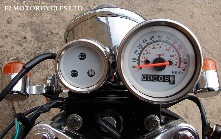 Skyteam Ace 125 dash board. Find out more www.f2motorcycles...
