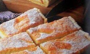 Návykové tvarohový koláč s piškótovým vrchom | Báječné recepty