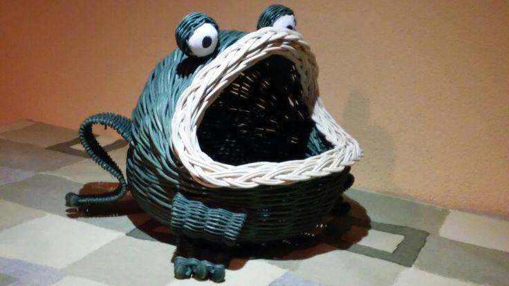 Žaba košík