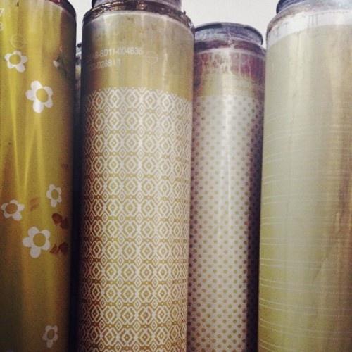 Print fabric screens