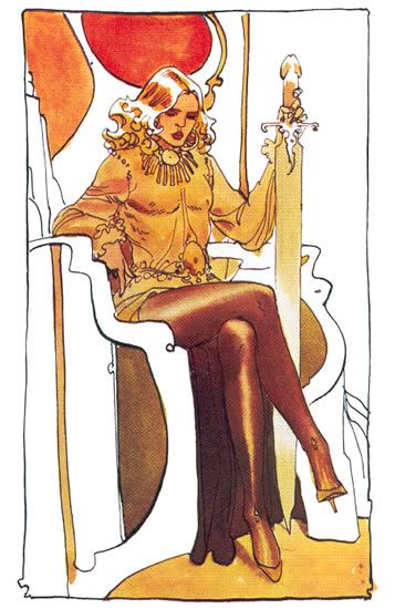 Jodorowsky's Dune, concept by Moebius. Feyd Rautha