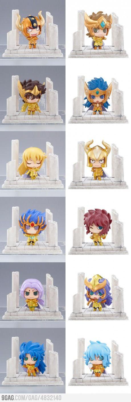 Cute Saint Seiya Figures