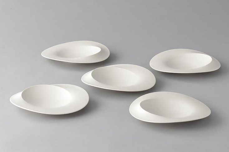 Vaisselle assiette plaque A plate a day: Not round