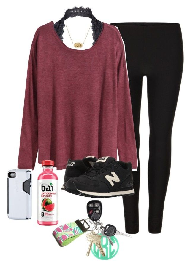 """OOTD"" by prep-lover1 ❤ liked on Polyvore featuring AllSaints, Free People, H&M, Kendra Scott, New Balance Classics and Lilly Pulitzer"