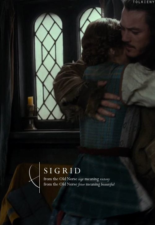 tolkieny:  the meaning of sigrid  for emalee
